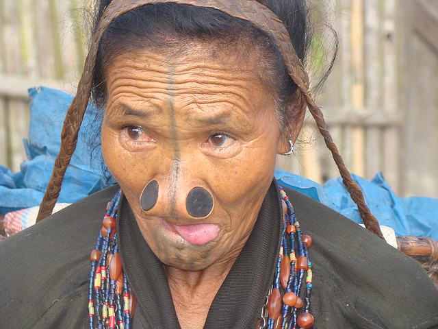 Arunachal tribal woman
